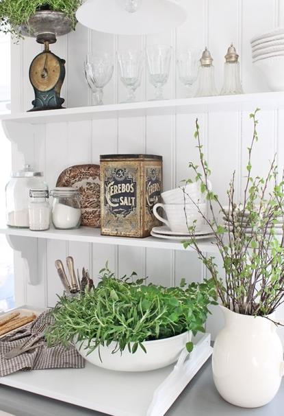 北欧キッチンの飾り方