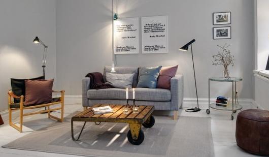 北欧家具レイアウト方法