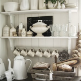 北欧キッチンの飾り方 キッチンカウンターのデコレーション