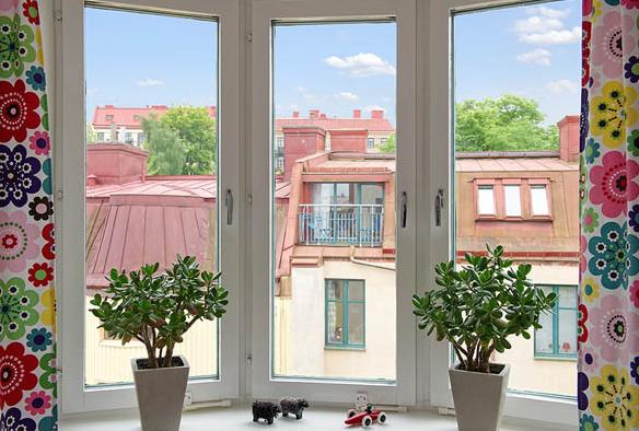 北欧窓デコレーション方法