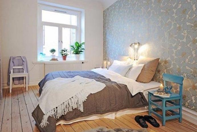 インテリア北欧ベッドルーム