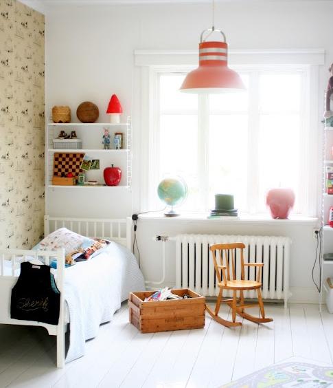 北欧の子供部屋レイアウト例