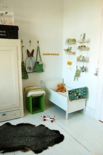 北欧インテリア赤ちゃん部屋