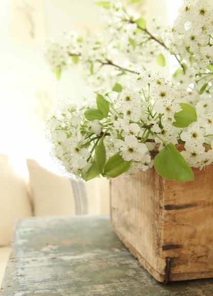 桜の花飾り方インテリア