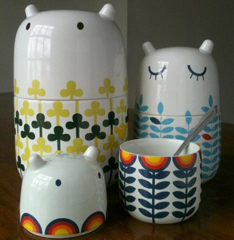 かわいい北欧雑貨陶器