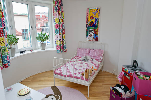 北欧マンション子供部屋