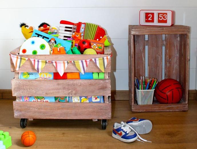 子供部屋収納方法