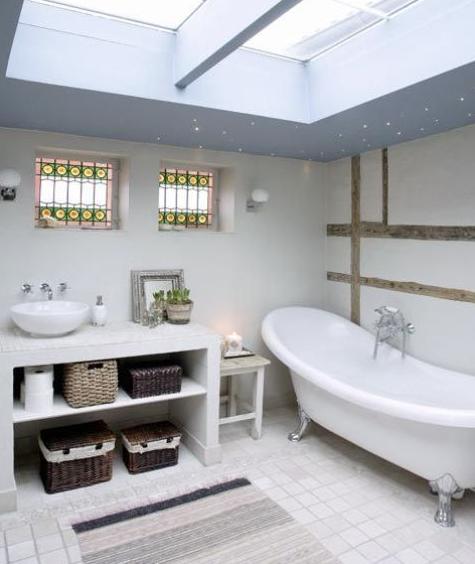 北欧インテリア浴室