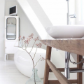 北欧の浴室デコレーション