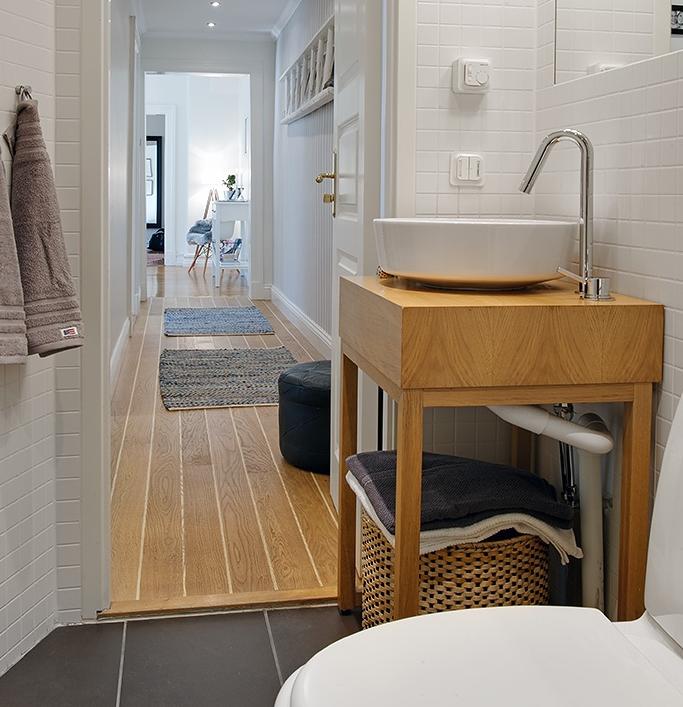 北欧スタイルのトイレ