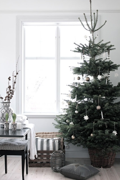 北欧インテリアとクリスマス飾り