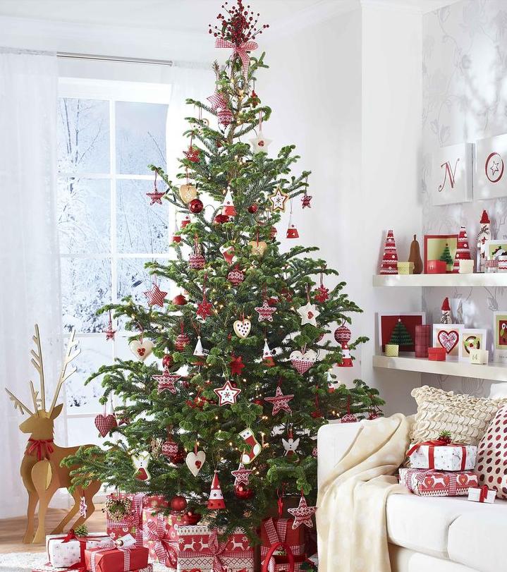 北欧ゴージャスクリスマスツリー飾り