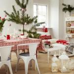 北欧クリスマスおしゃれなダイニングの飾り方10選