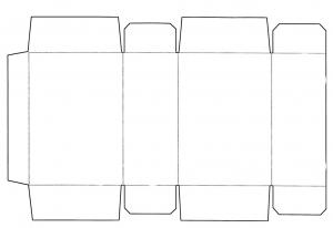 長方形の箱テンプレート