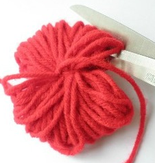 手作り毛糸ボール簡単
