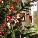 北欧インテリアに合う手作りクリスマスガーランド作り方