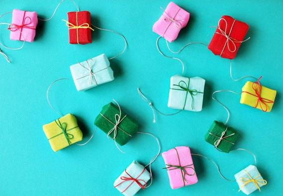かわいい手作りクリスマスガーランド