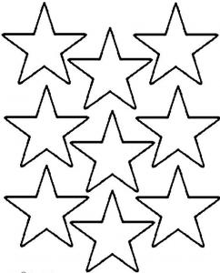 星形テンプレート