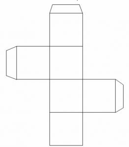 正方形の箱テンプレート
