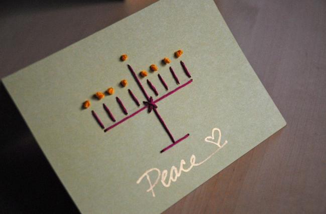 簡単手作りクリスマスカード作り方