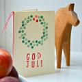 手作り北欧クリスマスカード