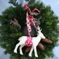生リース北欧手作りクリスマス