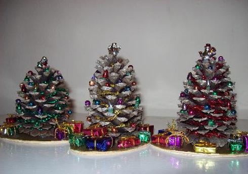 ミニクリスマス飾り作り方