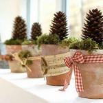手作り簡単ナチュラルな北欧クリスマス飾り作り方