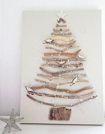 壁かけクリスマスツリー作り方