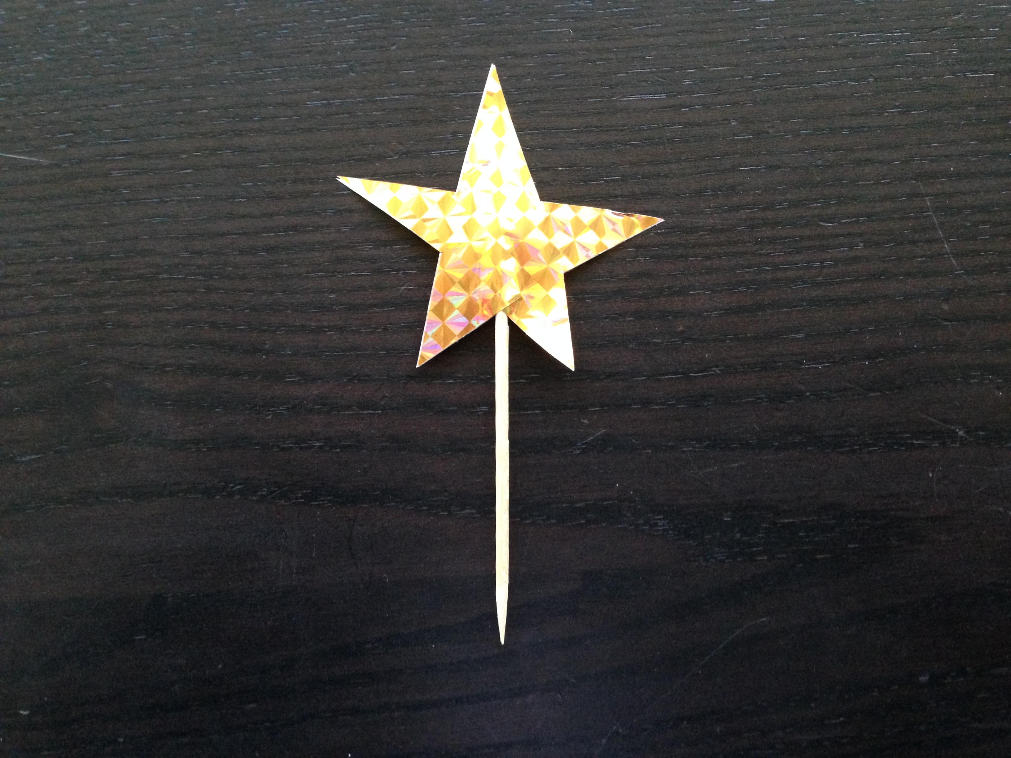 手作り簡単ツリートップ星