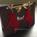 かっこいい手作りクリスマスカードおしゃれ