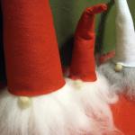 手作りトムテの作り方 ハンドメイド北欧サンタクロース