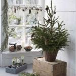 クリスマスツリーおしゃれな北欧デコレーション画像