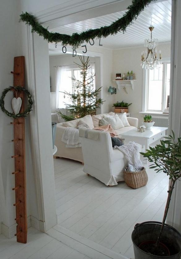 北欧インテリアクリスマスデコレーション